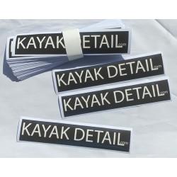 Sticker -  Kayak Detail